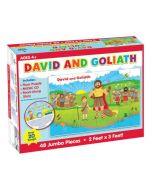 David and Goliath Floor Puzzle & CD