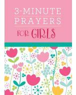 3-Minute Prayers for Girls