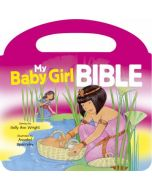 My Baby Girl Bible - Handle Board book