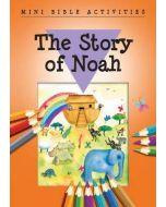 Mini Bible Activity Book-The Story of Noah