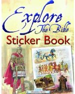 Candle Discovery Series - Explore the Bible Sticker Book