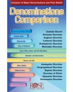 Denominations Comparison-Pamphlet
