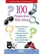 100 Things to Know When Dating-Pamphlet