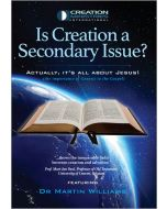 Is Creation a Secondary Issue? - DVD