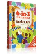 6-in-1 Puzzle Bibles-Noah's Ark