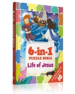6-in-1 Puzzle Bibles-Life of Jesus