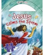 Jesus Calms The Storm: Jigsaw Puzzle Carry Me Series