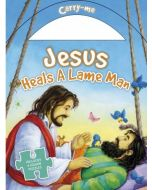 Jesus Heals A Lame Man: Jigsaw Puzzle Carry Me Series