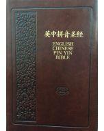 KJV & Chinese Union New Punc/PIN YIN, ZIP-Brown