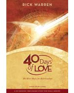 40 Days Of Love (Video Based Study DVD)