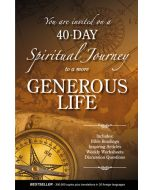 40-Day Spiritual Journey To A More Generous Life (min. 3)
