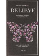 Planner 2021 (24 Month)-Believe