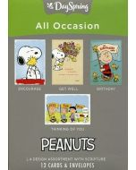 Boxed Cards-All Occasion, Peanuts, 15081