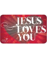 Gift Card - Jesus Loves You
