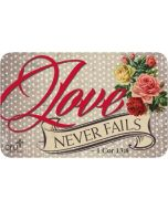 Gift Card - Love Never Fails
