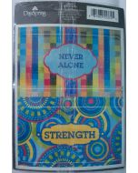 Moveable Stickers-Never Alone, Set/2 (36988)
