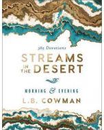 Streams In The Desert Morning & Evening-HC