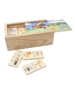 Wood Dominos Noah's Ark