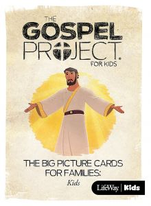TGPK V12: Kids Big Picture Cards for Families - Come, Lord Jesus