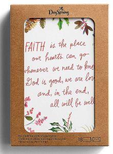 Boxed Cards-Christmas, Faith, J6345