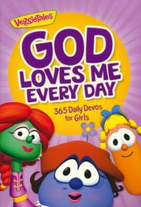 God Loves Me Every Day: 365 Daily Devos for Girls