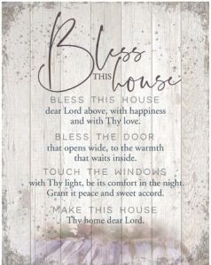 Plaque (Big Board): Bless This House, 5449