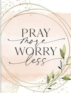 Magnet: Pray More Worry Less, 6388