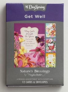 Boxed Cards-Get Well, Nature's Blessing, 18583