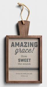 Wall Décor - Amazing Grace, J3867