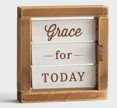 Tabletop Reversible-Grace For Today, J3868
