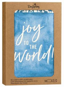 Boxed Cards-Christmas, Joy to the World, J6342