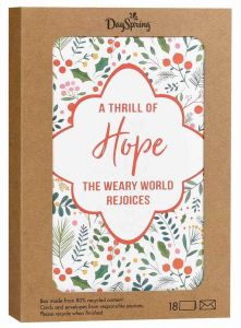 Boxed Cards-Christmas, A Thrill of Hope, J6343