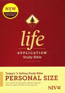 NIV Life Application Personal-Size Study Bible, Third Edition (Hardcover)