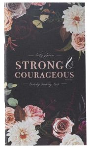 Planner 2022 (24 Month, Small)-Strong & Courageous, DP381