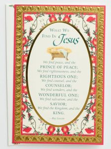 Boxed Cards-Christmas, Premium, What We Find In Jesus, 57116
