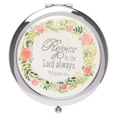 Compact Mirror-Rejoice In the Lord Always MRR006