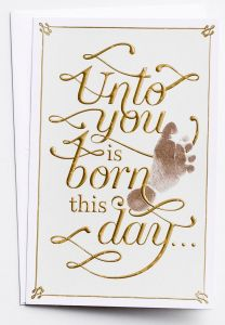 Boxed Cards-Christmas, Unto You Is Born This Day, 60650