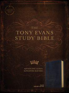 CSB Tony Evans Study Bible Genuine-Black