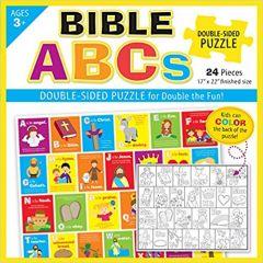 Bible ABCs Puzzle (Double Sided Puzzle Box Set)