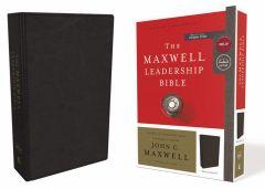 NKJV Maxwell Leadership LeatherSoft-Black, 3rd Edition