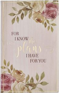 Journal: Flexcover-For I Know the Plan, JL478