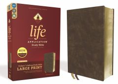 NIV Life Application Study Bible, Third Edition, Large Print, Brown