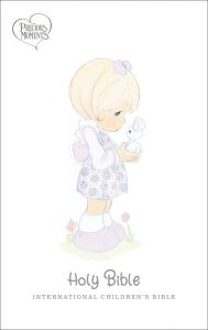 ICB Precious Moments Bible, Leathersoft-Pink