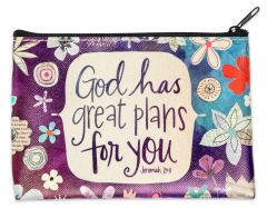 Coin Purse: God has Great Plans, 75826