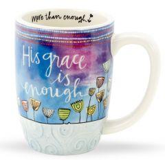 Mug (Sculpted): His Grace is Enough, 78131