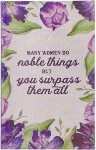 Journal: Flexcover-Many Women Do Noble, JL479