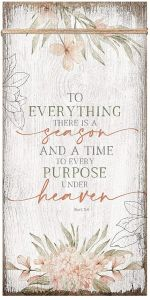 Plaque-Timeless Twine: To Everything There is a Season, 6574