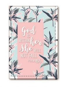 Mini Compact Mirror Rectangle- God Is Within Her