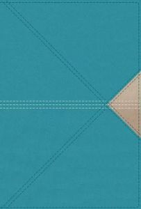NASB Thinline LeatherSoft-Teal,  Comfort Print