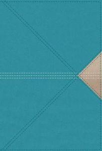 NASB Thinline Large Print LtrSoft-Teal, Cft Prt